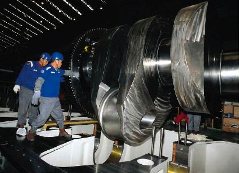 maior motor a diesel no mundo