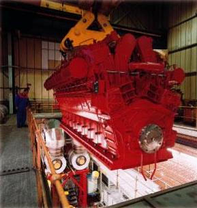 o MB430M é menor na zona de ensaio especial na fábrica, o motor é esperado para bater o mercado comercial neste outono.