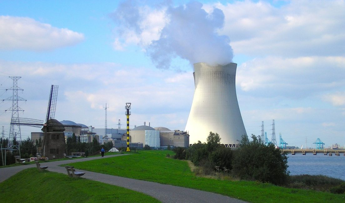 reator nuclear para gerar energia