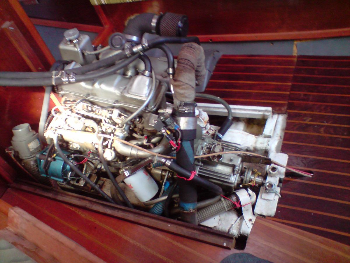 motor a diesel marítimo