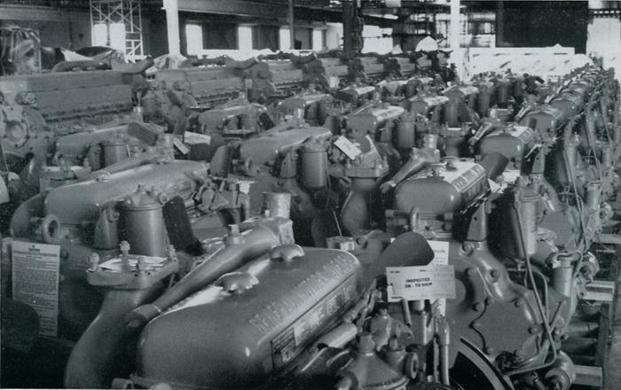 fabrica de motores a diesel da GM Jimmy