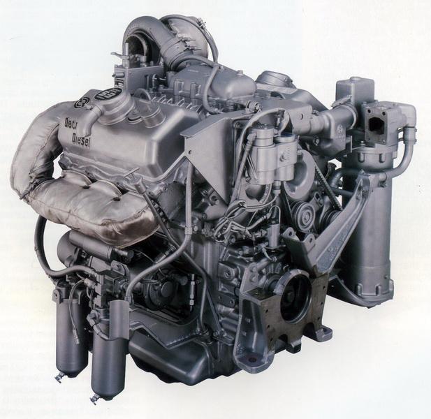 Motor Detroit Diesel 6V53 para aplicações militares