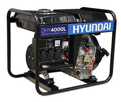 DHY4000L Gerador Hyundai a Diesel - são leopoldo diesel