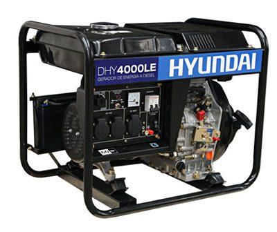 gerador a diesel modelo DHY4000LE da hyundai - sao leopoldo diesel