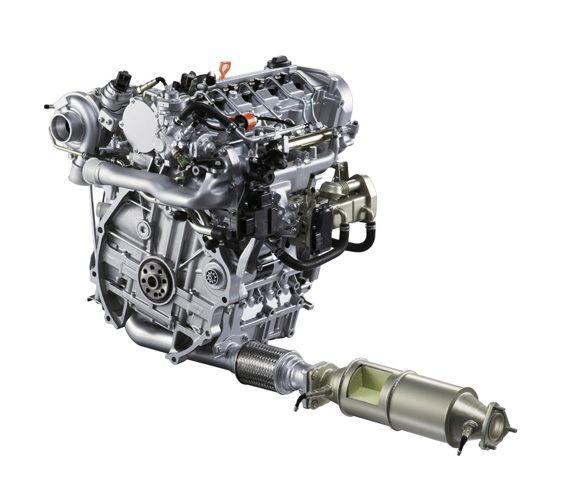 honda motor diesel limpo