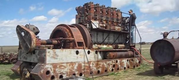 motor diesel antigo